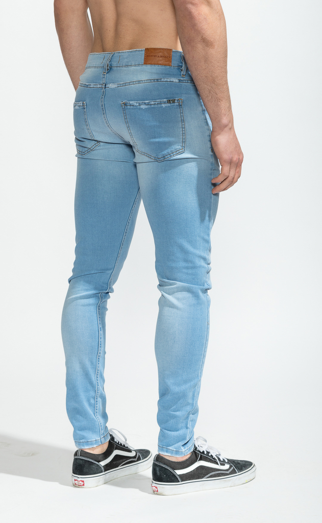 Skinny Jeans - Light blue summer - Harvey & Willys - comprar online