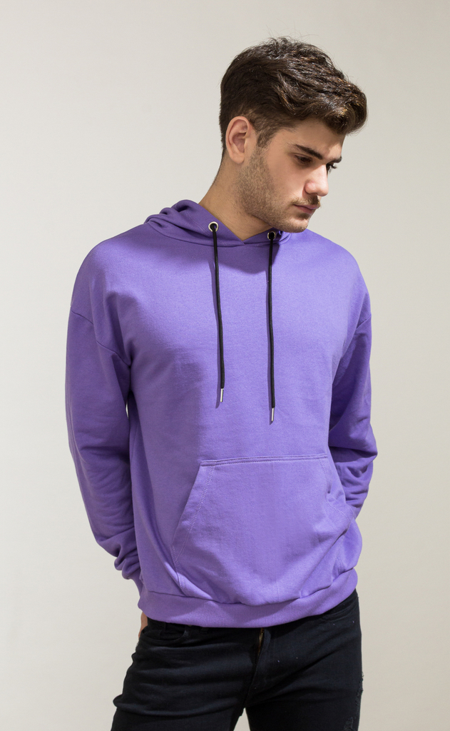 Hoodie sweatshirt - Lavender on internet