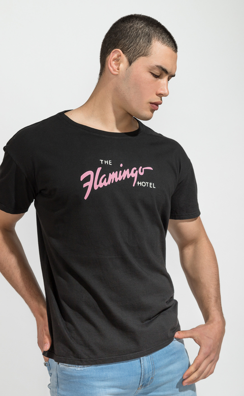 Regular tshirts - flamingo hotel -  Harvey & Willys - comprar online
