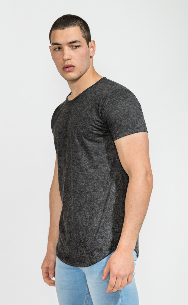 Maxi Tshirt- washed black - buy online