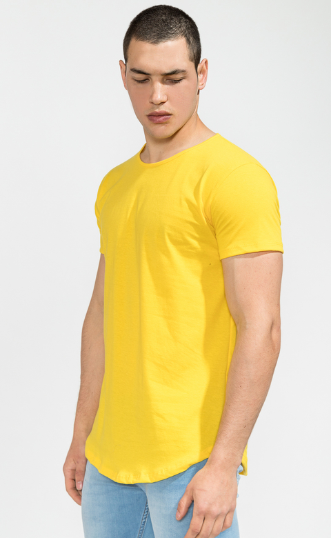 Maxi Tshirt- Yellow