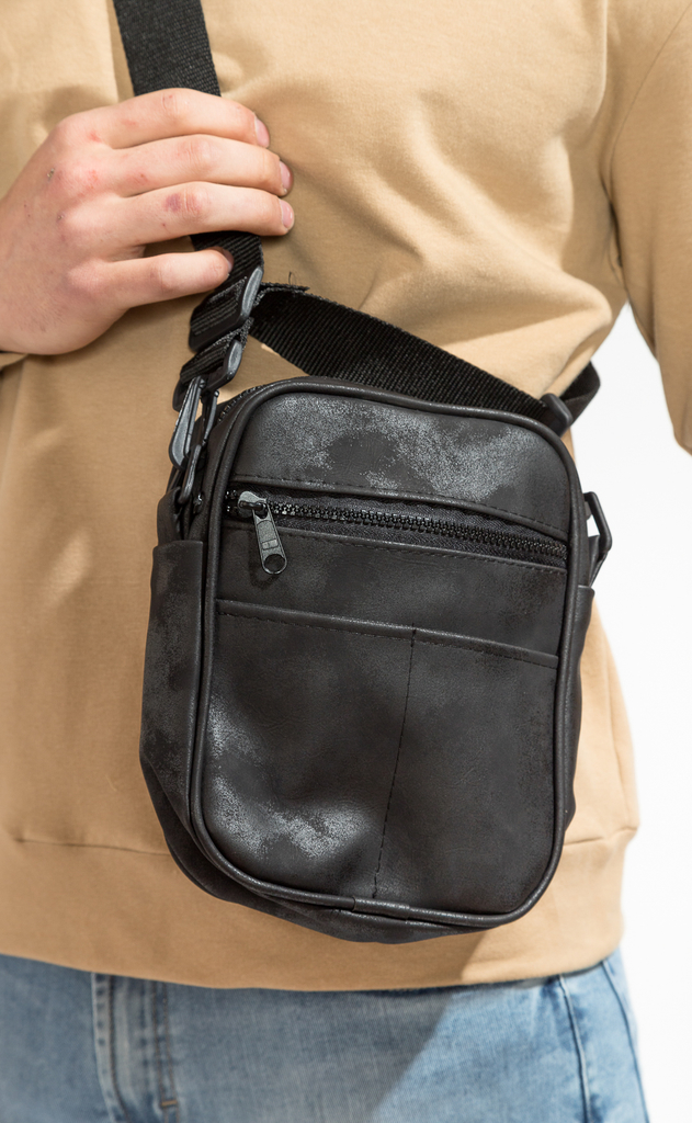 Mini morral - washed black - comprar online