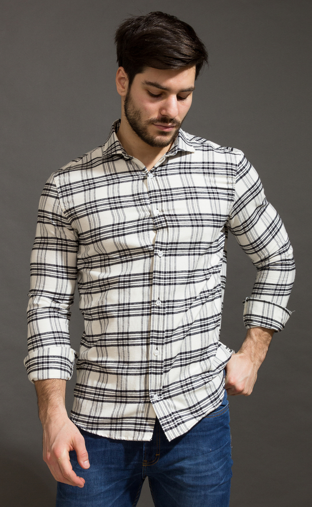 Lumberjack shirt - lanilla  - cream - buy online
