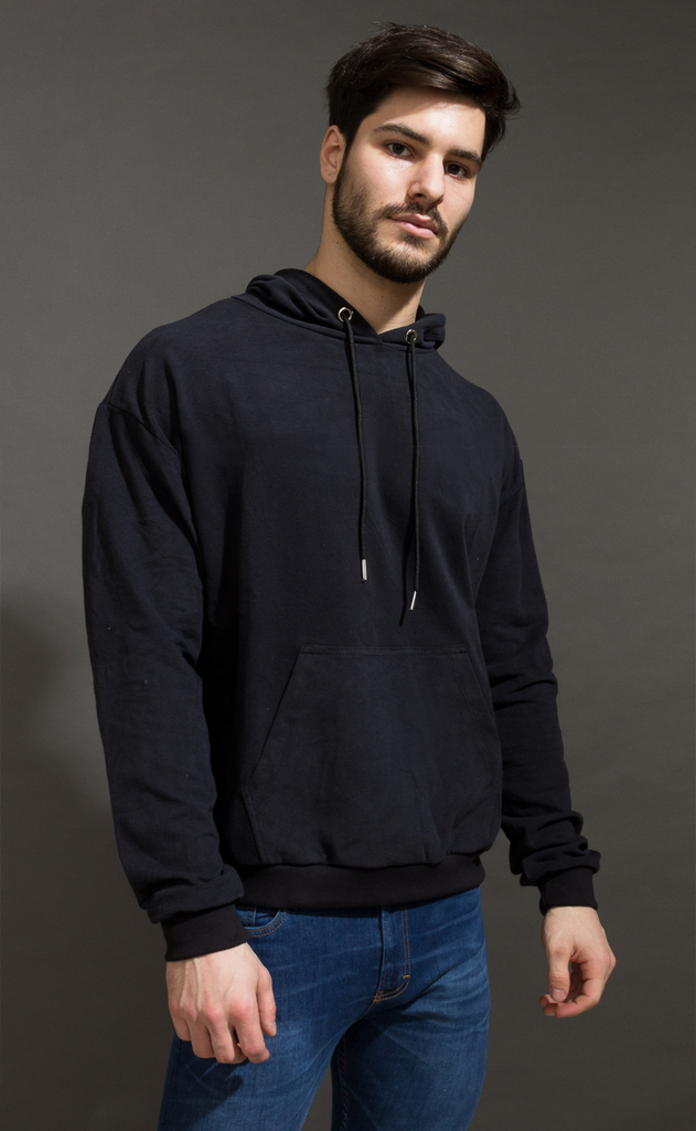 Hoodie sweatshirt - Just Black - buy online