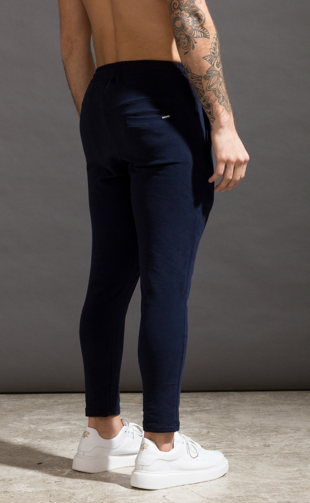 Skinny cotton jogger- Just Blue - comprar online