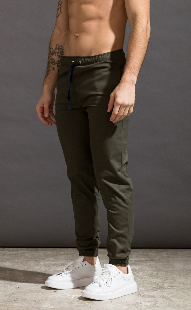 Mohammed Gabe Skinny Jogger - Army - online store