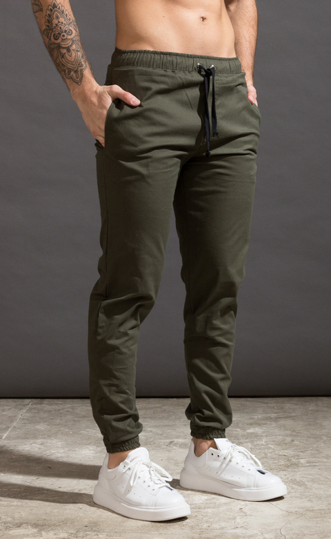 Mohammed Gabe Skinny Jogger - Army