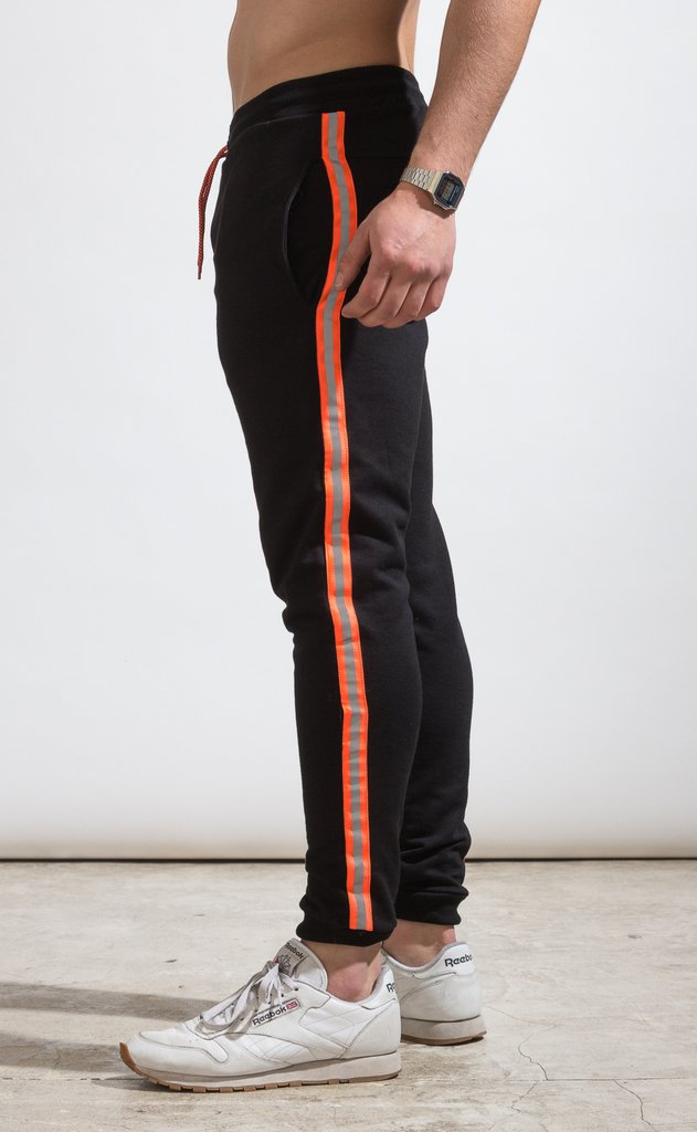 Skinny Jogger - flash stripe Orange fluo - buy online