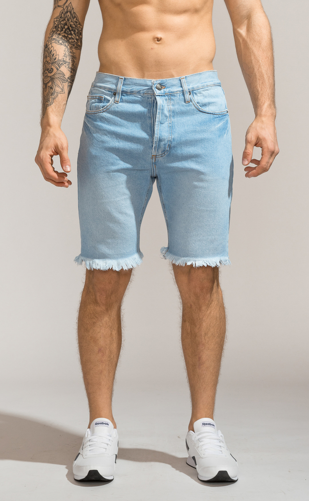 Denim Bermudas - Duke Light Blue
