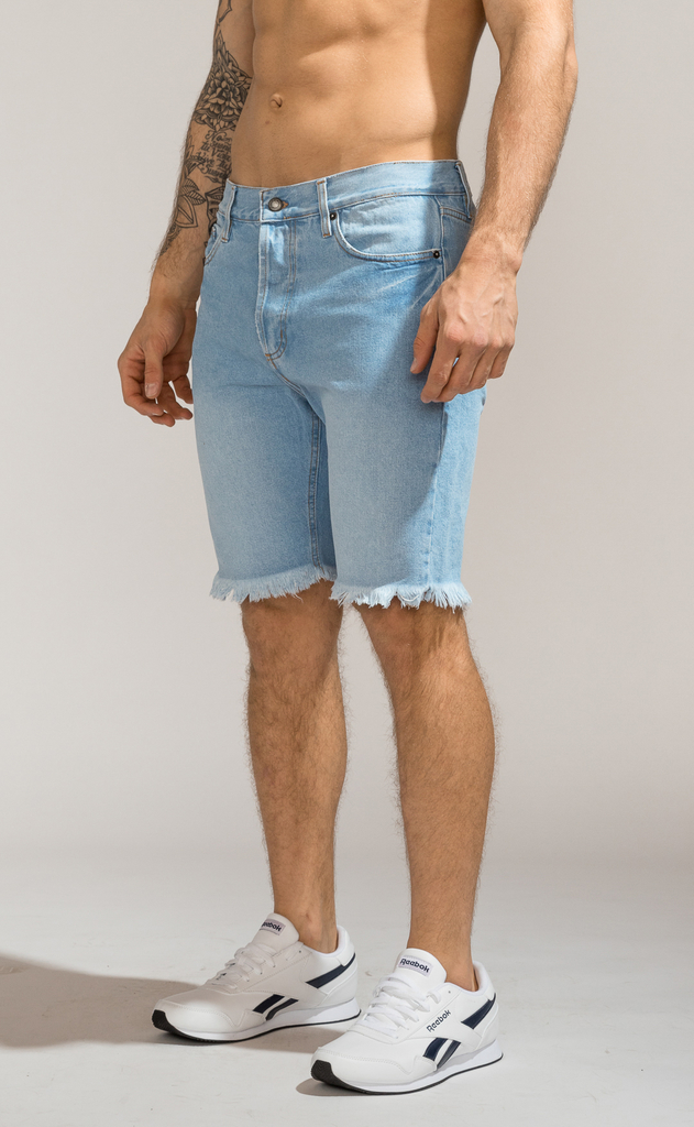 Denim Bermudas - Duke Light Blue - comprar online