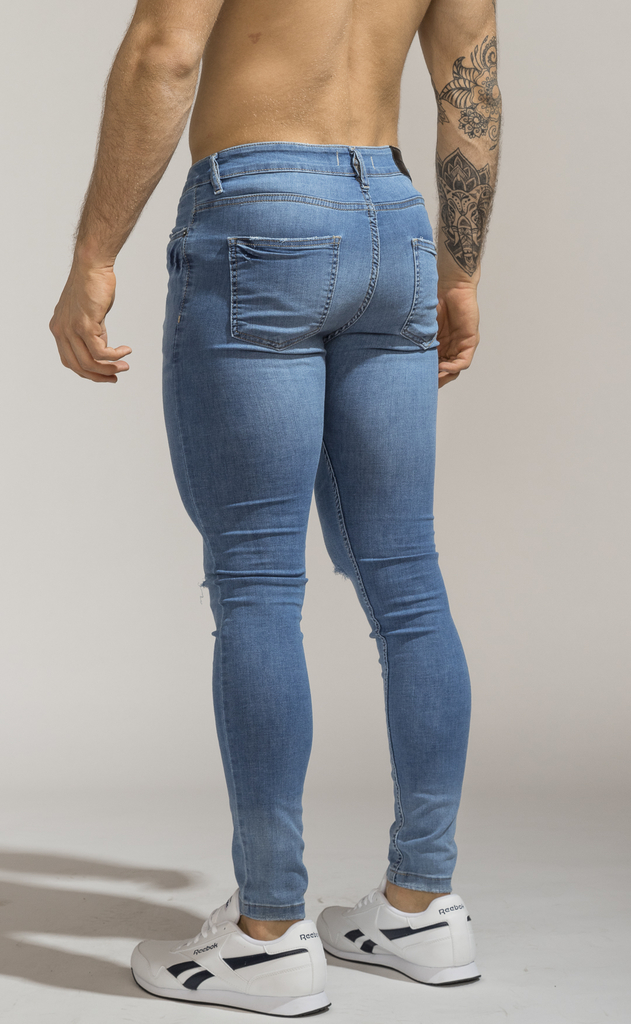 Skinny Jeans - Blue Vondel - Harvey & Willys en internet