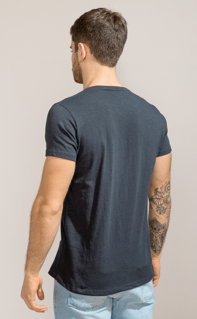 Brooklyn tshirt - Blue Flamé - buy online
