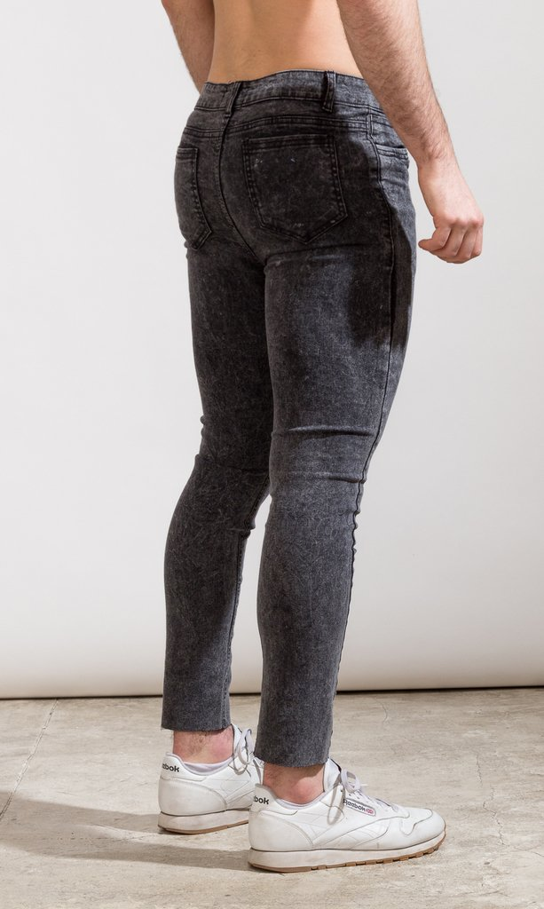 Skinny Jeans - Blue with cut (copia) - buy online
