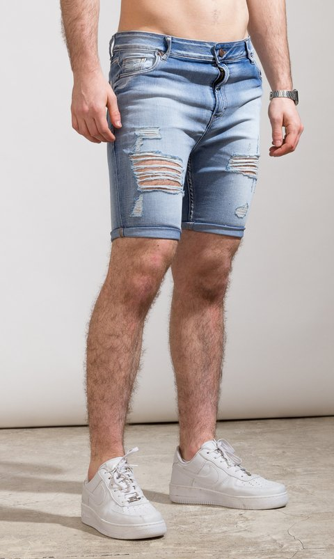 Denim Bermudas - Duke light