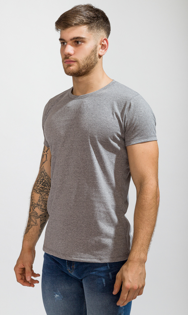 Brooklyn tshirt - Grey melange