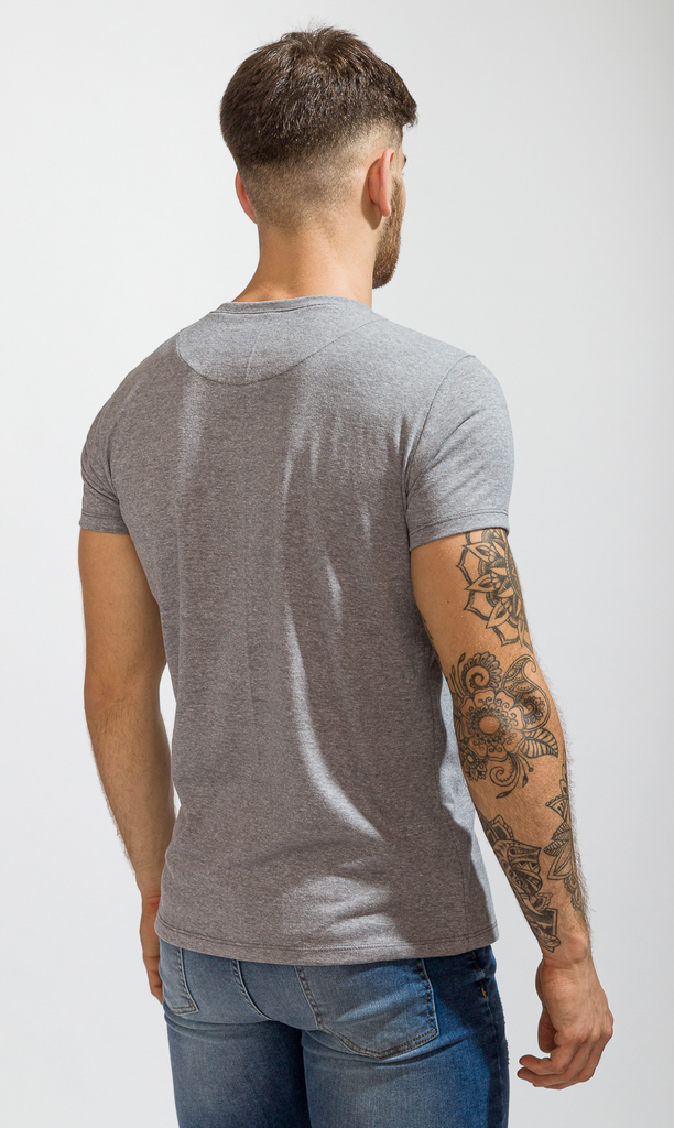 Brooklyn tshirt - Grey melange - buy online