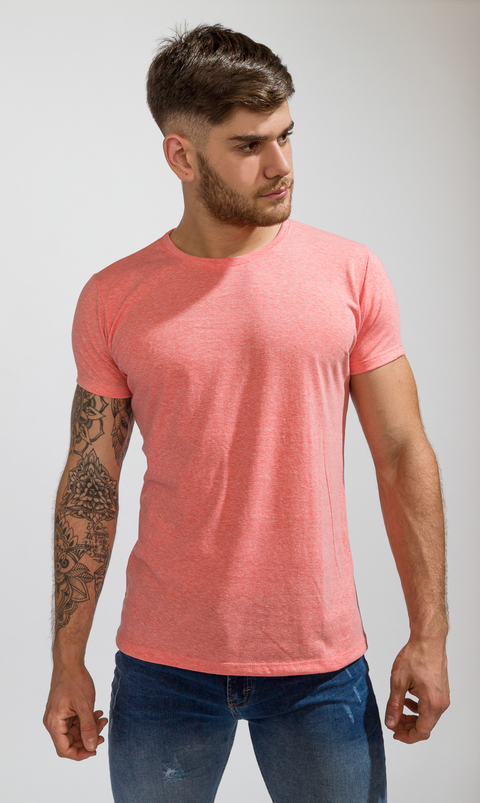 Brooklyn tshirt - Salmon