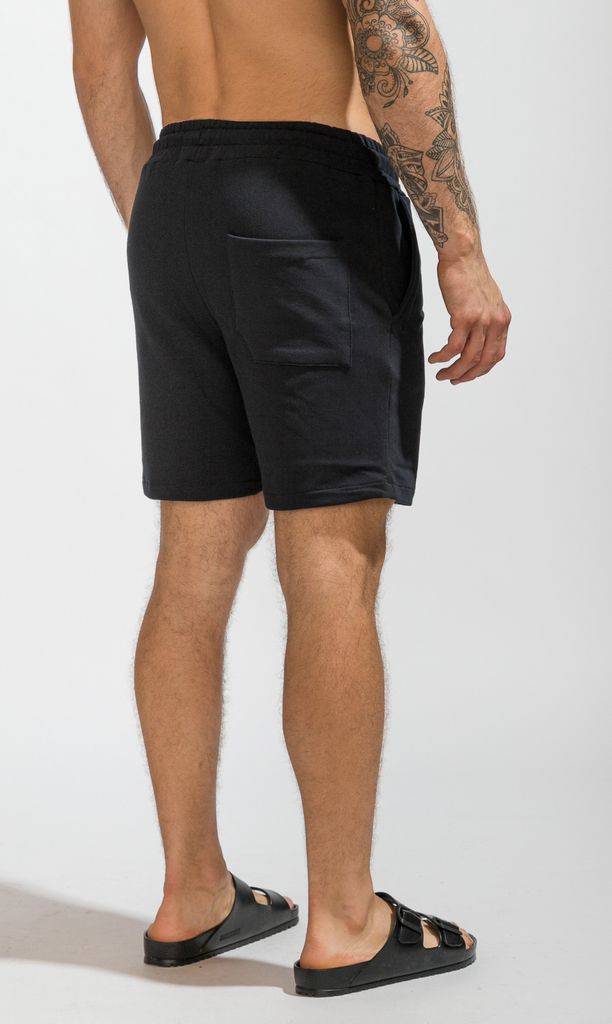 Cotton bermudas - Just Black - comprar online