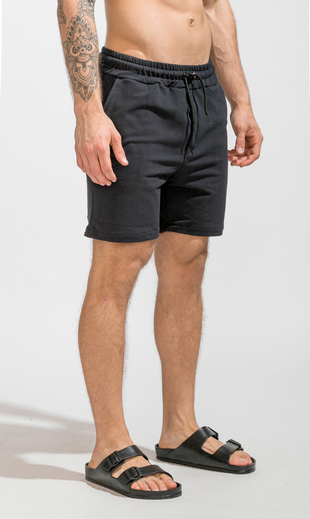 Cotton bermudas - Just Black