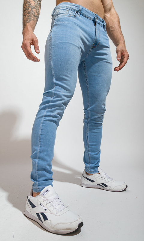 Skinny Jeans - sky lite on internet