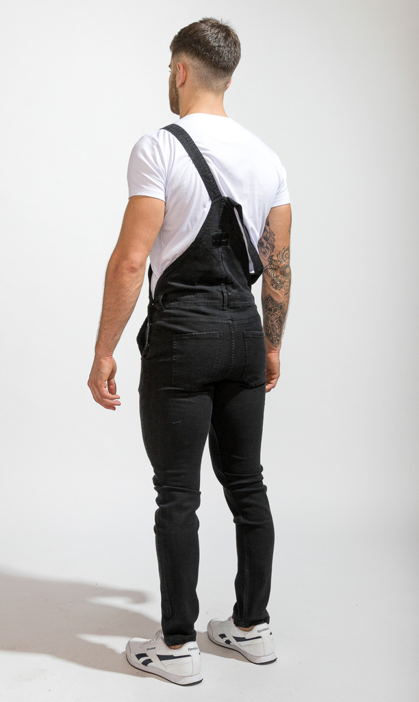Denim Overall  - Black - buy online