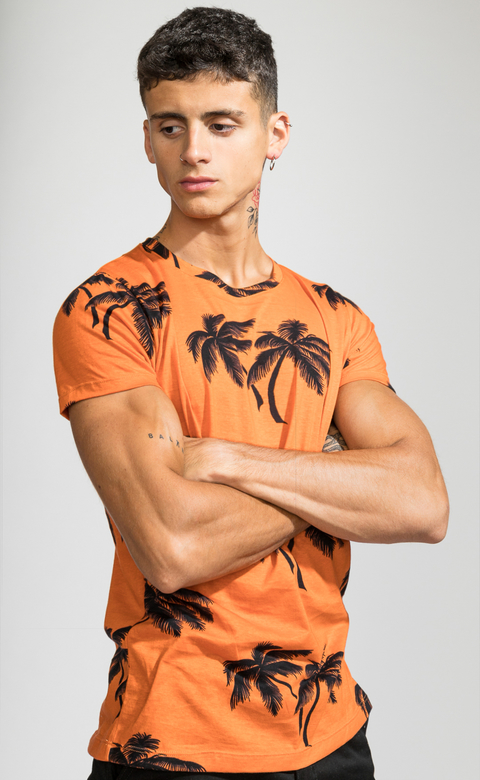 Brooklyn tshirt - Tulum Orange