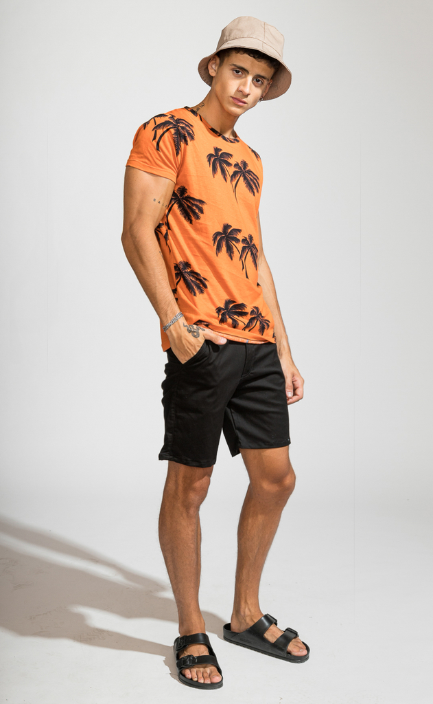 Brooklyn tshirt - Tulum Orange - comprar online