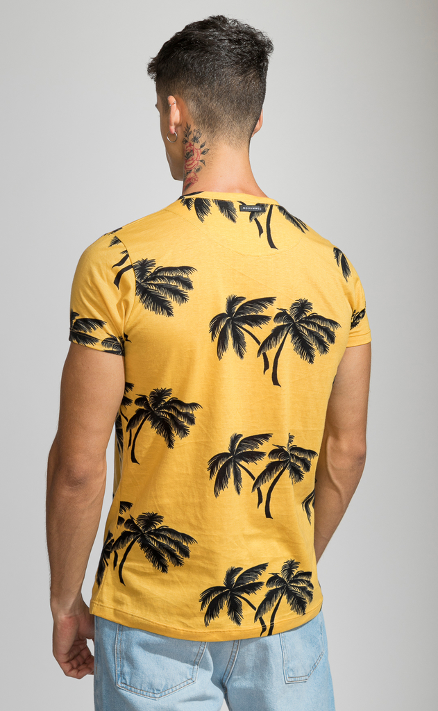 Brooklyn tshirt - Tulum yellow - comprar online