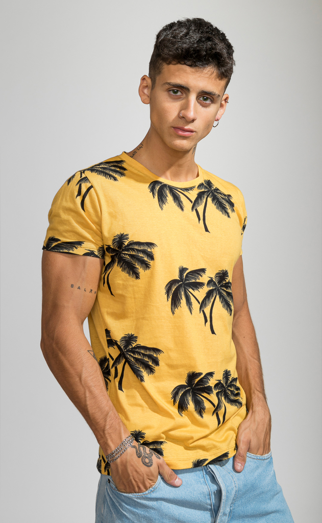 Brooklyn tshirt - Tulum yellow
