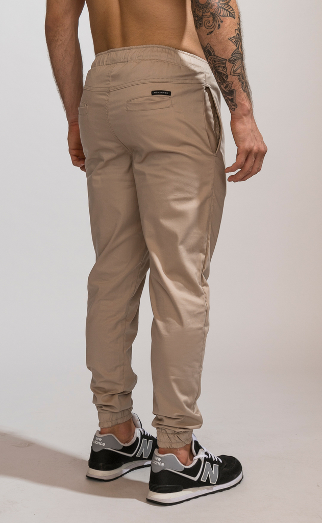 Gabe Summer Skinny Jogger - Beige on internet