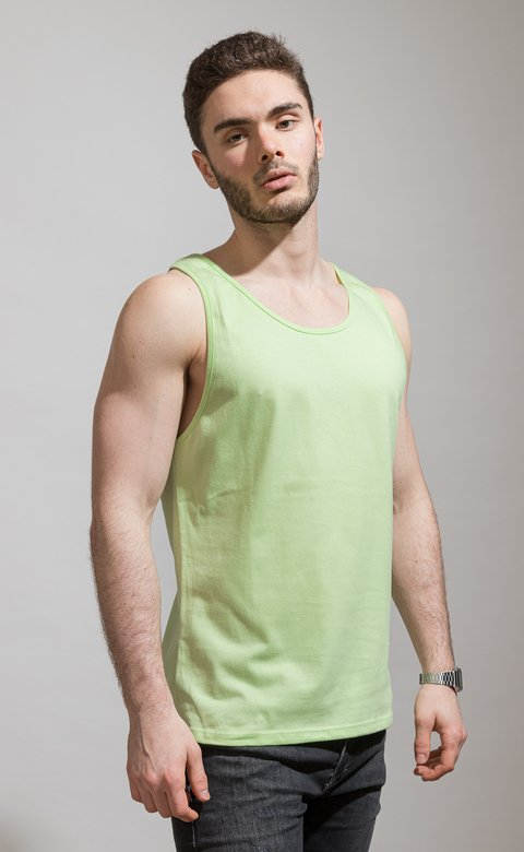Basic Tanktop - Lime