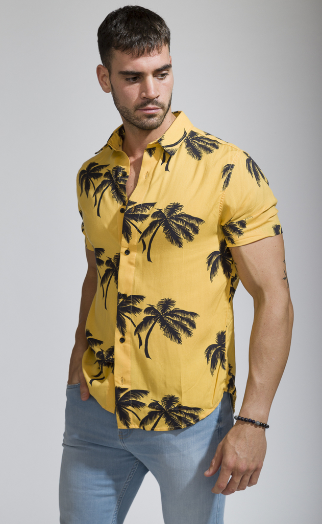 Flowy shirt - Tulum Yellow