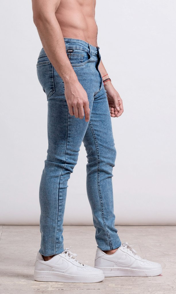 Skinny Jean S1 - Snow light blue