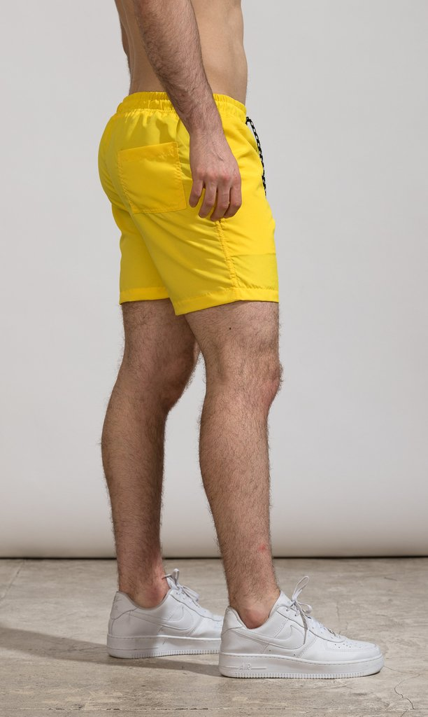 Short corte regular - Yellow