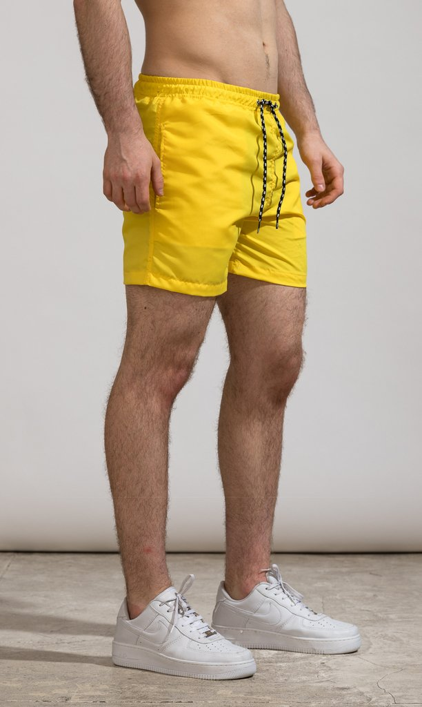 Short corte regular - Yellow - comprar online