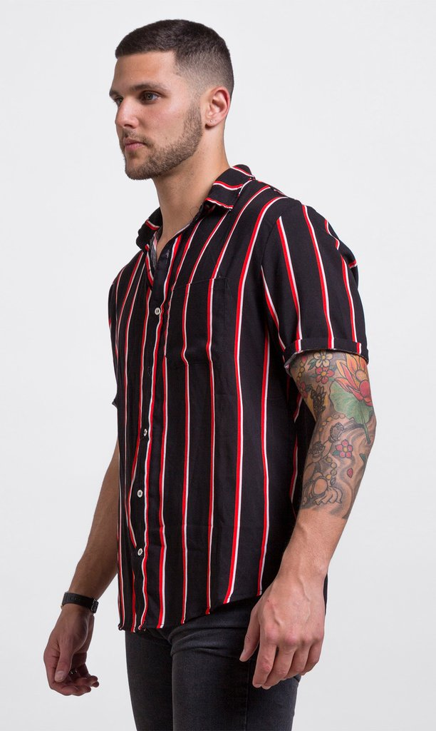 Red & black shirt - comprar online
