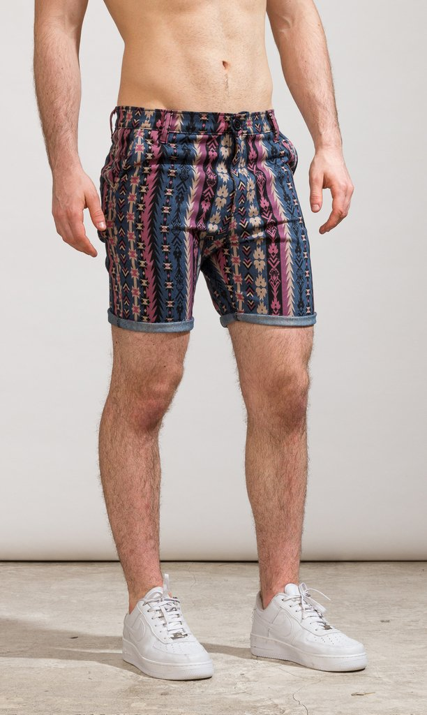 Denim skinny Bermudas - Native American on internet
