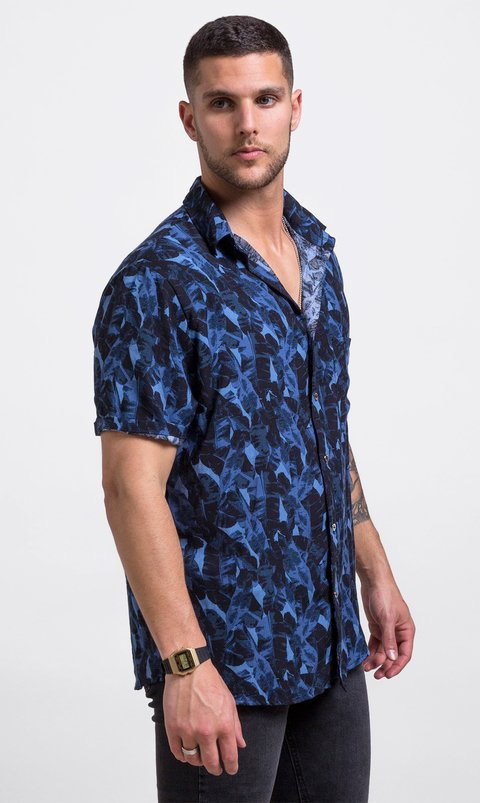 blue jungla shirt