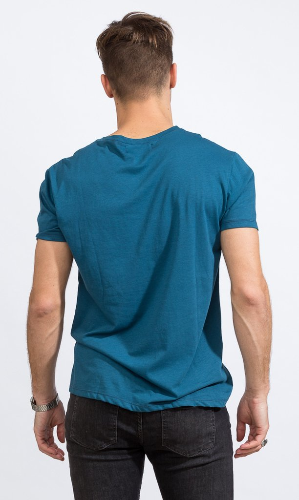 Basic tshirt - Regular fit - dark emerald - comprar online