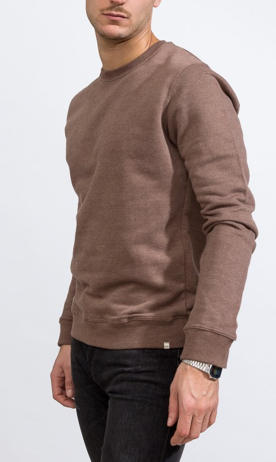 Sweatshirt - Regular fit - Brown - buy online