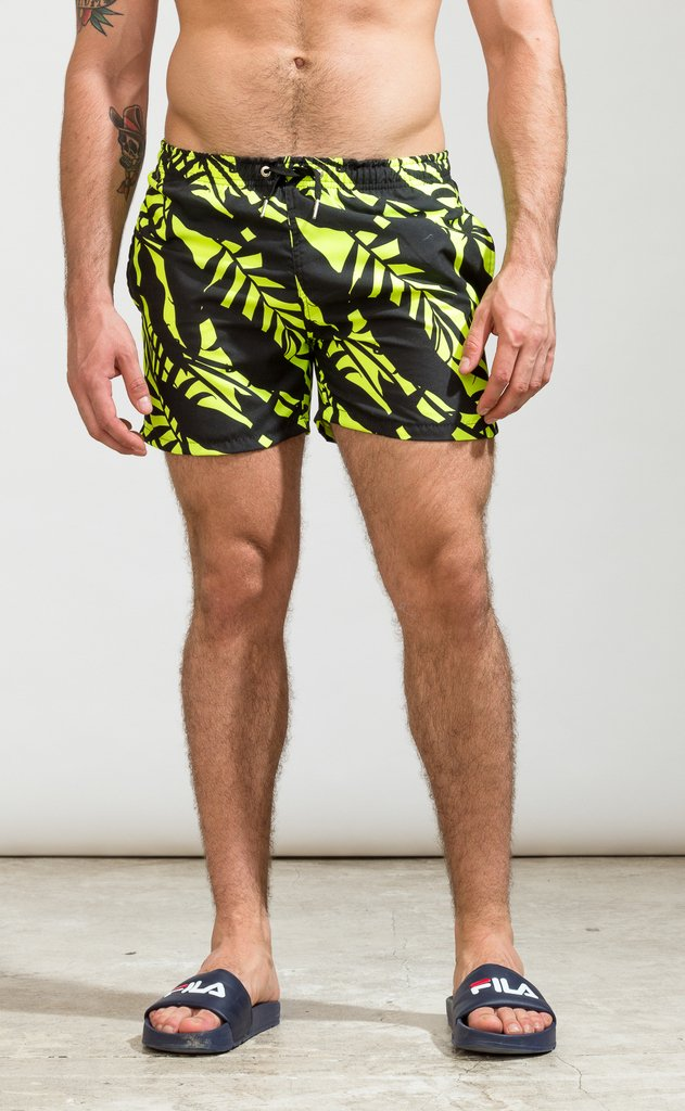 Swimshort regular cut - Neon jungle - comprar online