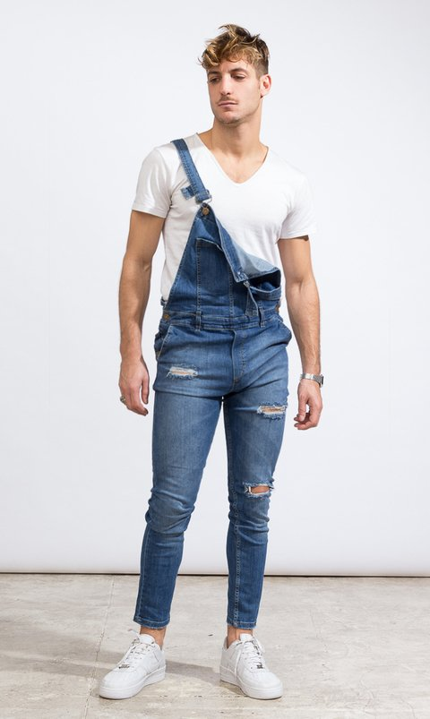 Denim Overall - Blue