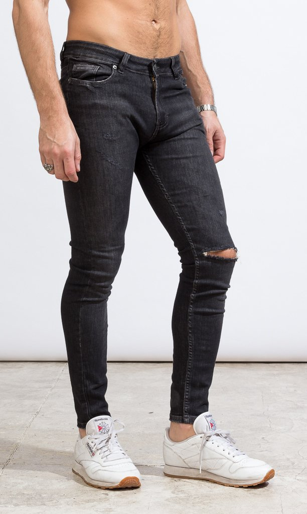 Skinny Jeans - Duke Black - Harvey & Willys - comprar online