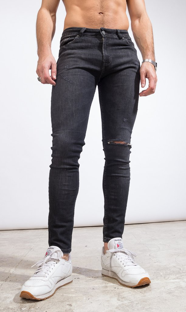 Skinny Jeans - Duke Black - Harvey & Willys