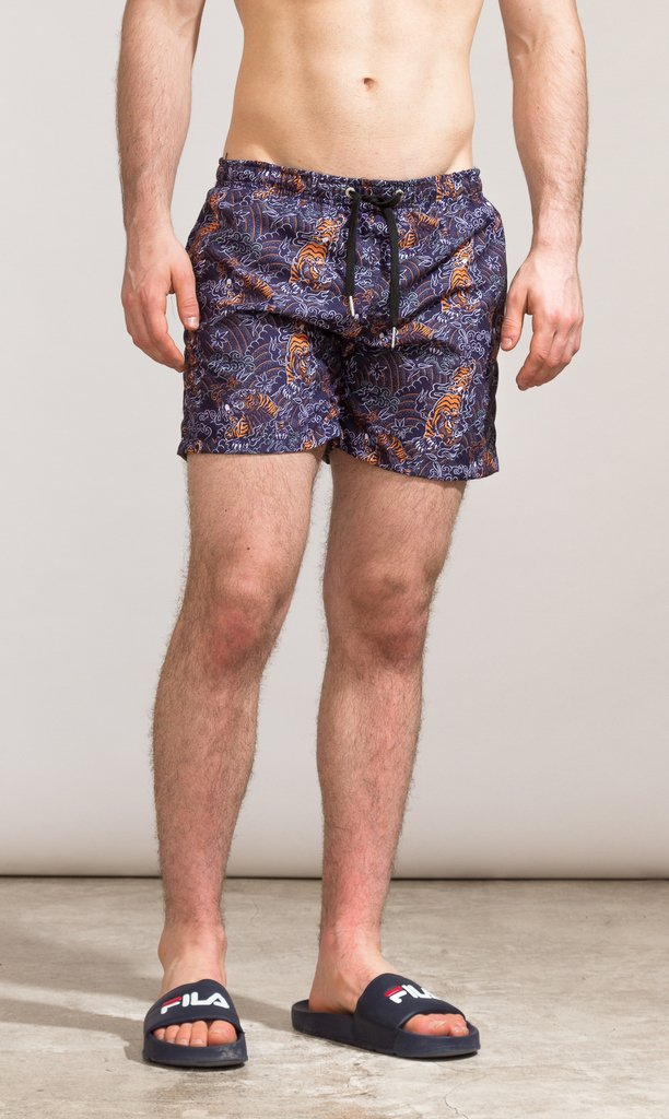 Swimshort regular cut - Shinshuku tigers