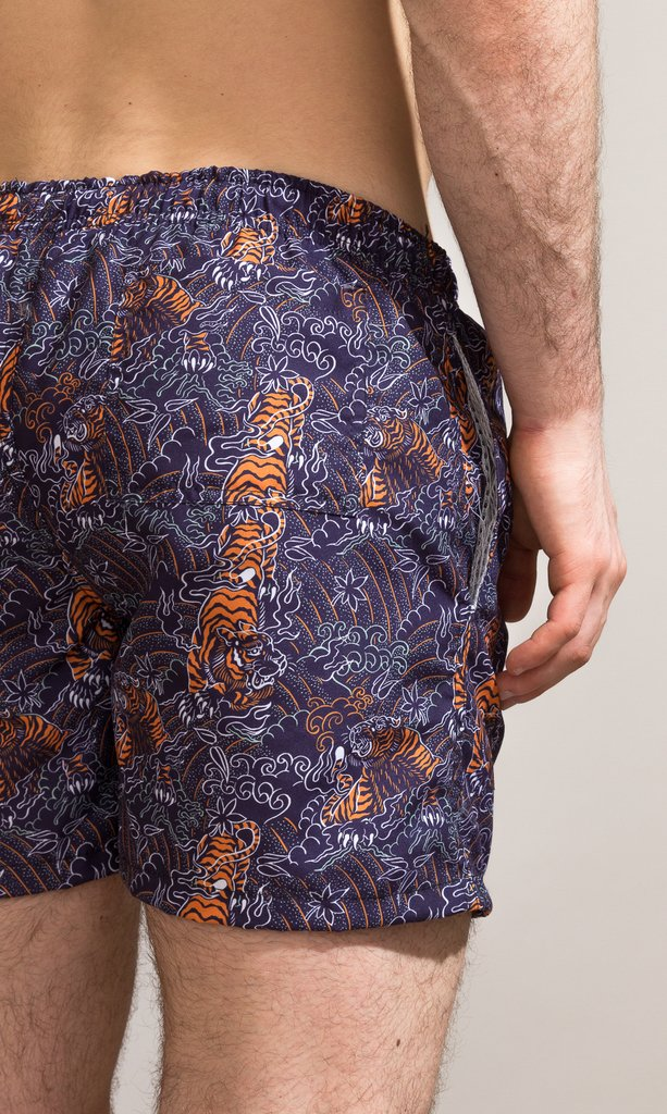 Swimshort regular cut - Shinshuku tigers - buy online