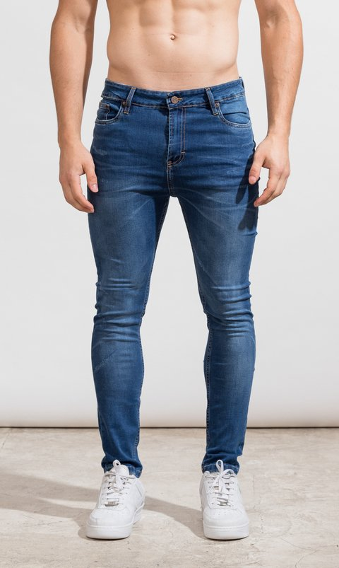 Skinny Jeans - Classic blue - Harvey & Willys