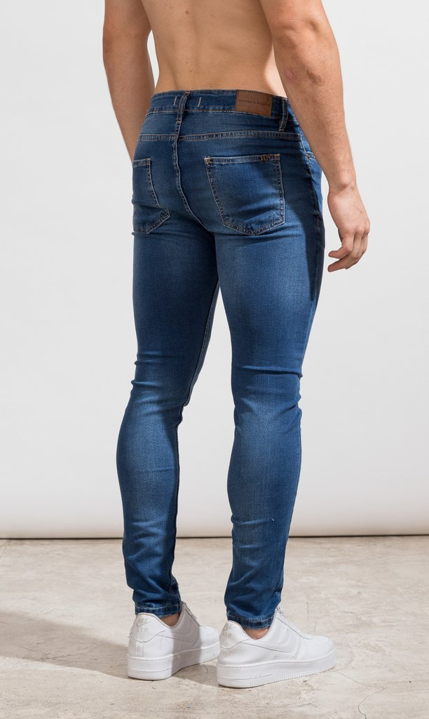 Skinny Jeans - Classic blue - Harvey & Willys - comprar online