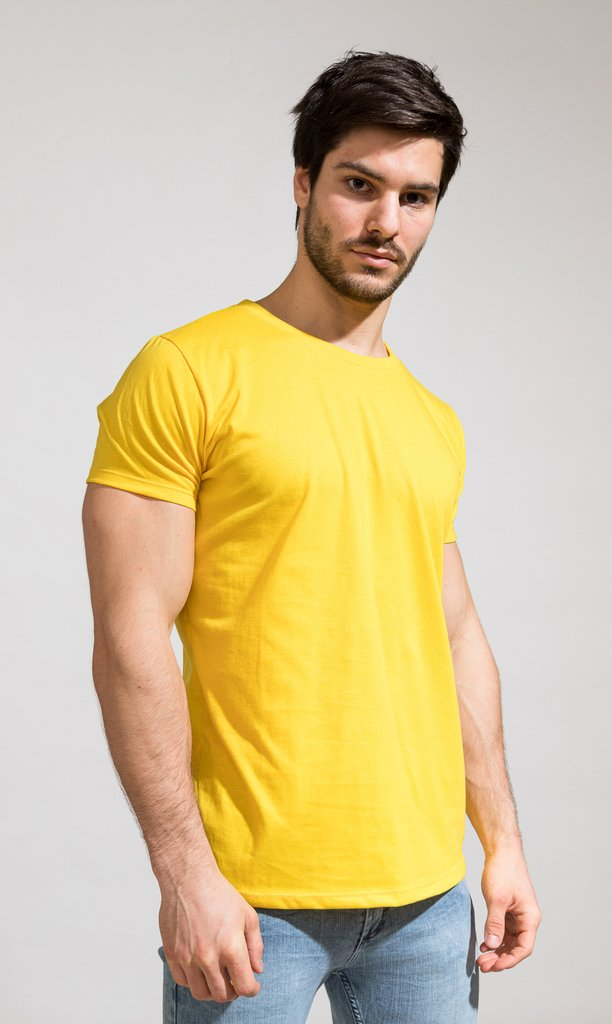 Brooklyn tshirt - yellow - buy online
