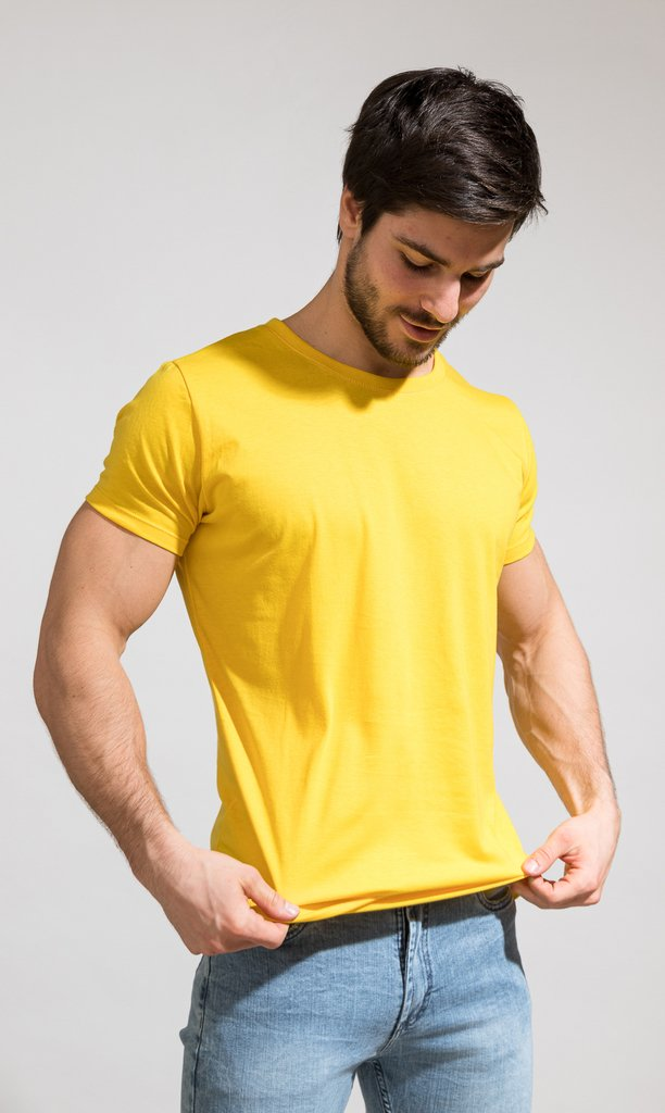 Brooklyn tshirt - yellow
